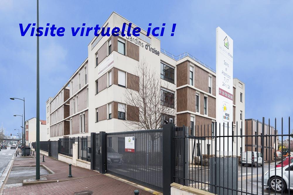 visite virtuelle EHPAD Les Jardins iroise de Saint Gratien 95 Val d'Oise